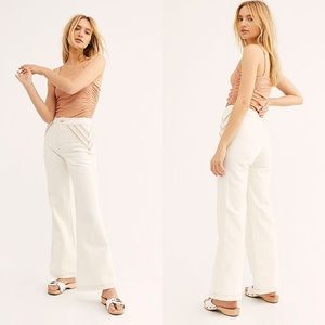 Free People Over The Rainbow Flare Jeans